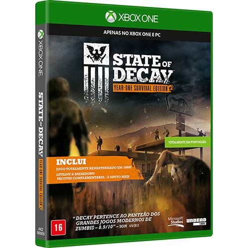 State of Decay Year One Survival Edition - Xbox One Semi-novo