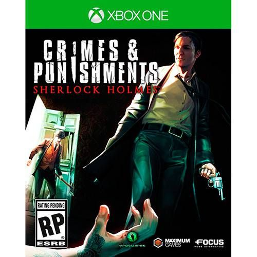 Crimes and Punishment Sherlock Holmes - Xbox One Semi-novo
