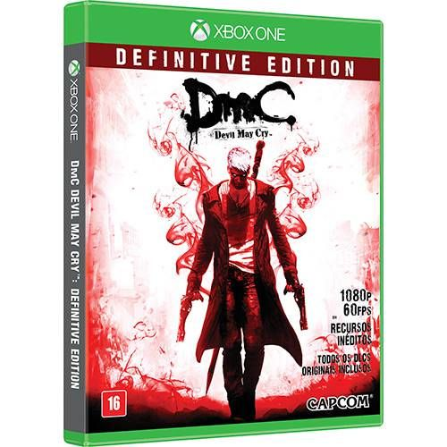 DMC Devil May Cry: Definitive Edition - Xbox One Semi-novo