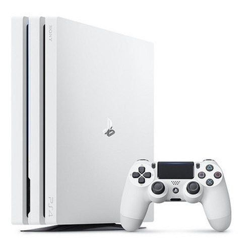 Playstation 4 Pro 1TB Branco 4k + Controle Sem Fio