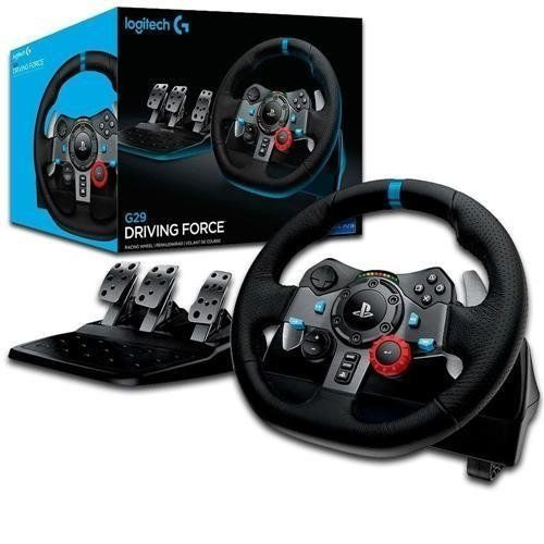 Volante Gamer G29 - PS4 PS3 e PC - Logitech