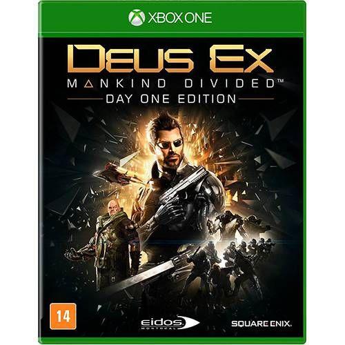 Deus Ex Making Divided Edição Day One - Xbox One Semi-novo