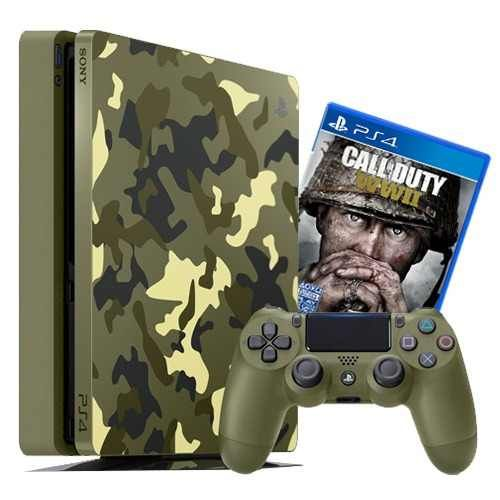 Playstation 4 Slim 1TB Limited Edition Cod WWII