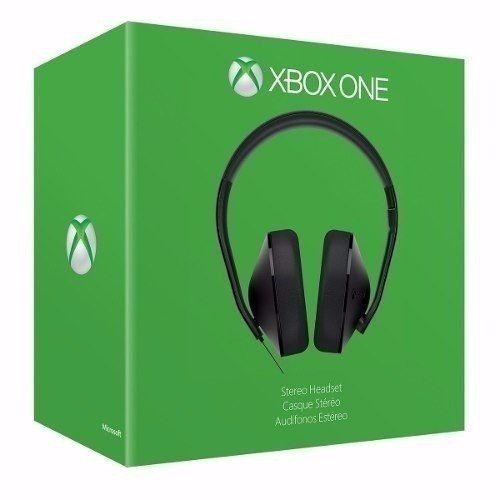 Xbox one stereo headset original microsoft + Adaptador - Xbox One