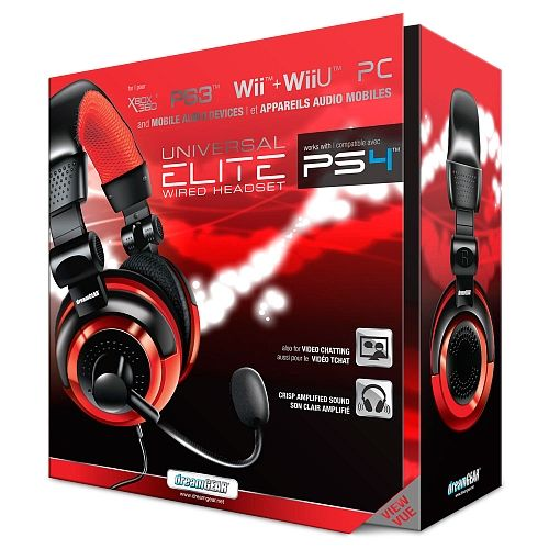 Headset Elite Dreamgear Universal Para Todos Os Consoles