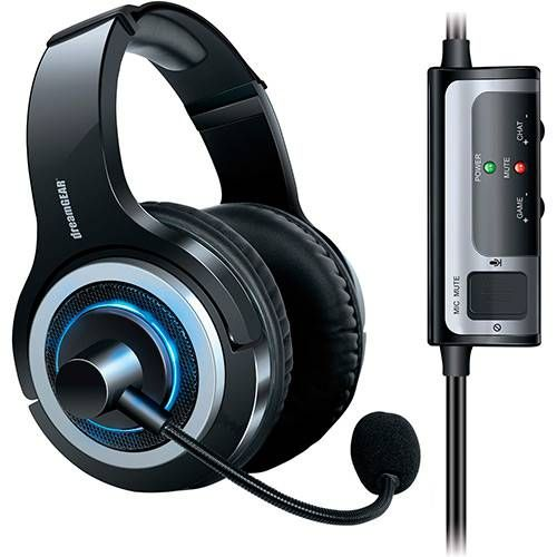 Headset DreamGear Prime Wired com microfone - PS4