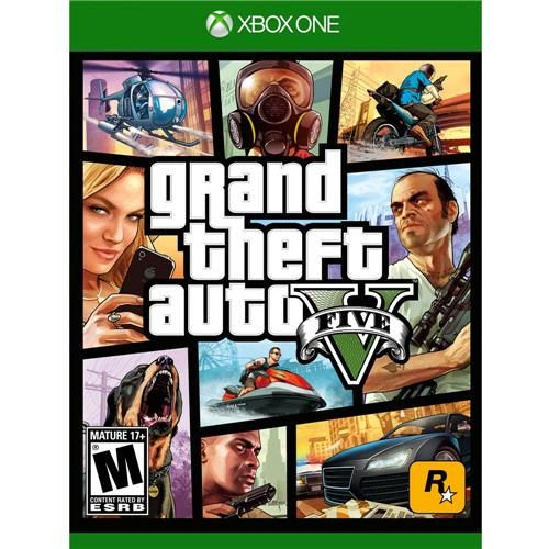 Grand Theft Auto V (Gta) - Xbox One Semi-novo