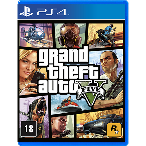 Grand Theft Auto V (Gta) - PS4 Semi-novo |