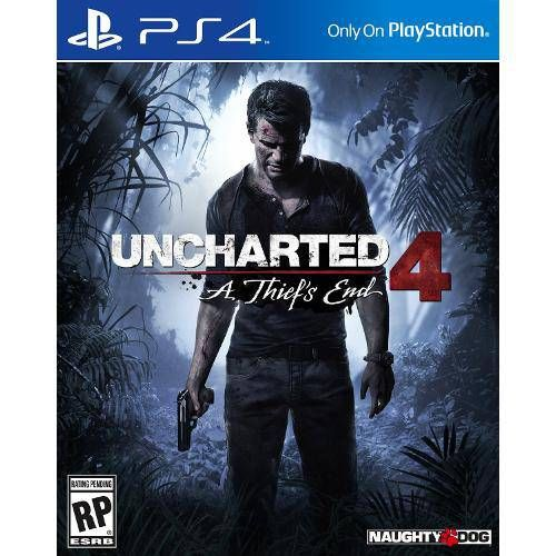 Uncharted 4: A Thief's End - PS4 Seminovo