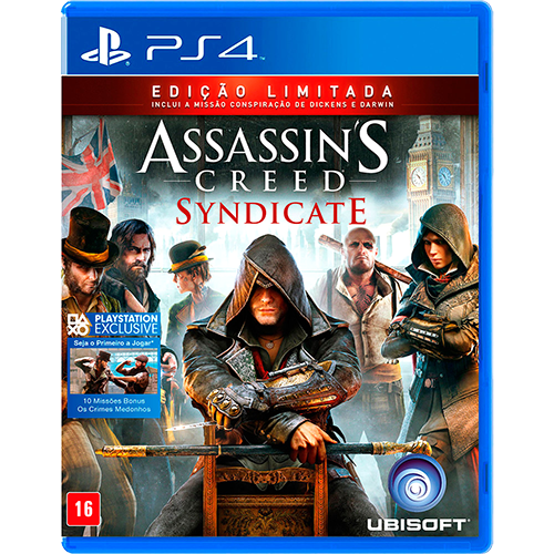 Assassins Creed: Syndicate - PS4 Semi-novo