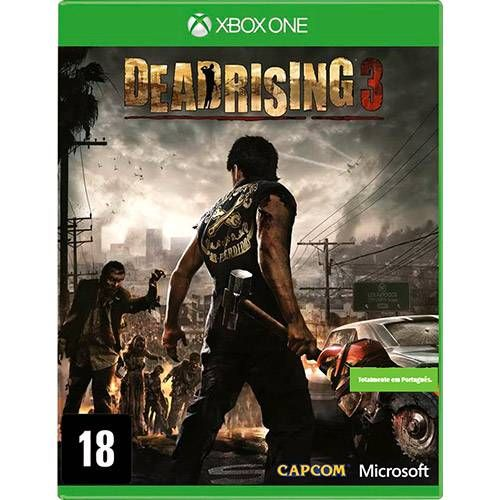 Dead Rising 3 - Xbox One Semi Novo