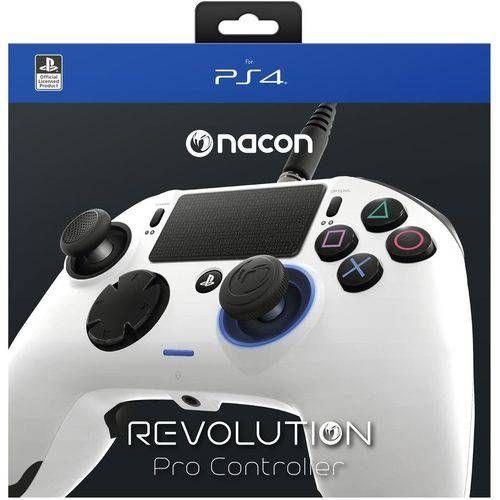 Controle Revolution Pro Nacon Branco - Ps4