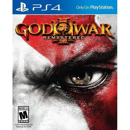 God of War III Remasterizado - PS4 Semi novo