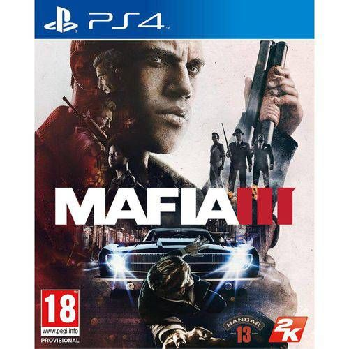 Mafia 3 - Ps4 Semi novo