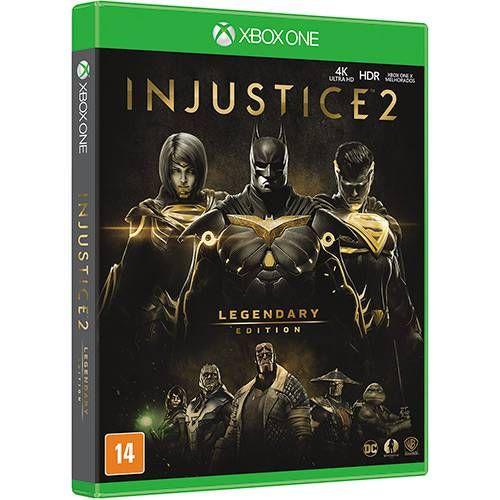 Jogo Injustice 2 Legendary Edition - Xbox One Fisica Usado