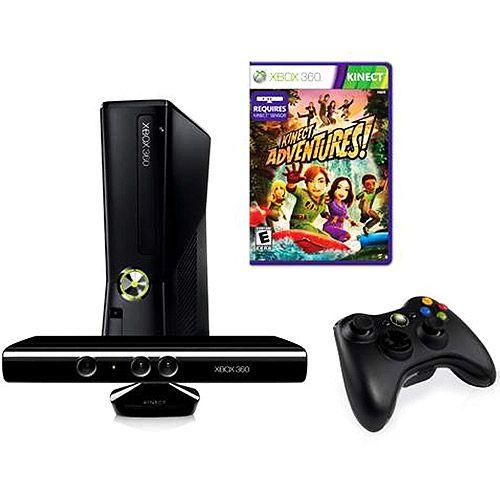 Xbox 360 + Sensor Kinect ( Semi Novo )