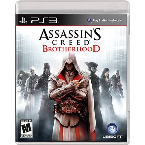 Assassin's Creed Brotherhood - PS3 Semi novo