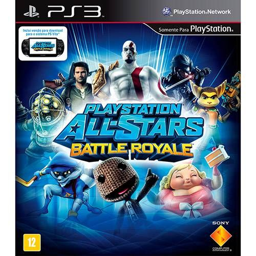 PlayStation - All Stars Battle Royale - PS3 Semi novo