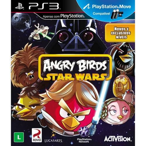 Angry Birds Star Wars - PS3 Semi novo