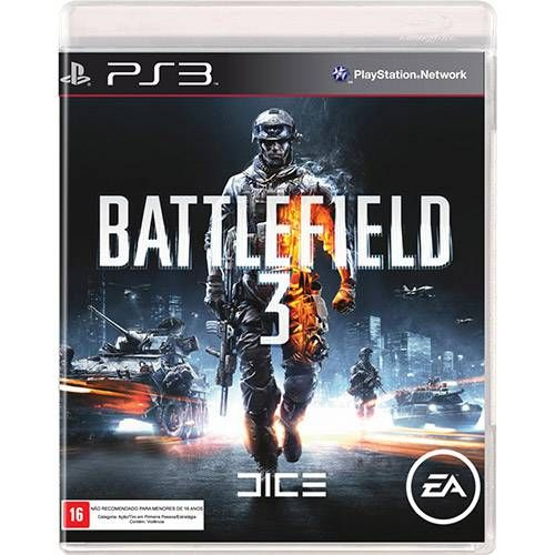 Battlefield 3 - PS3 Semi novo