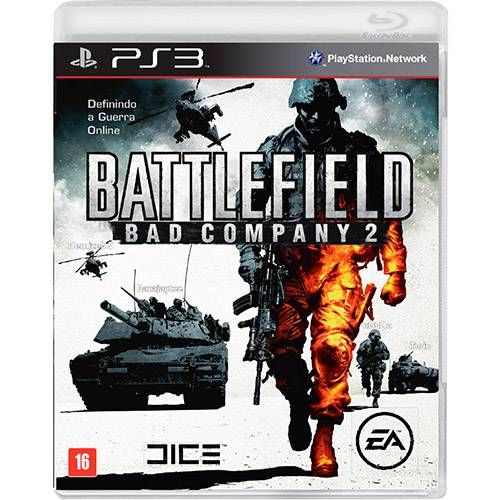 Battlefield: Bad Company 2 - PS3 Semi novo