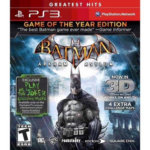 Batman Arkham Asylum - Ps3 Semi novo