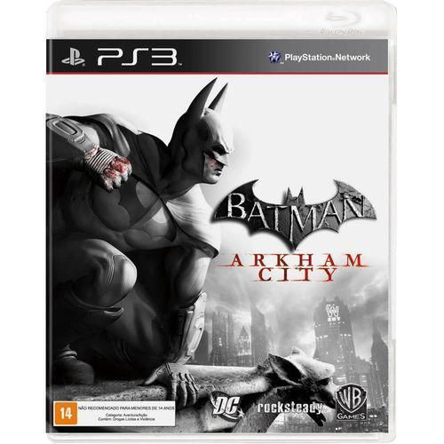 Batman: Arkham City - PS3 Semi novo