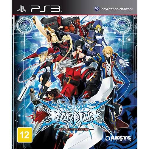 Blazblue: Calamity Trigger - PS3 Semi novo