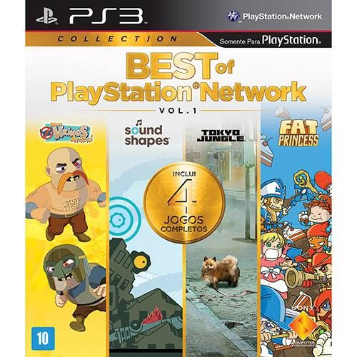 Best of PlayStation Network - Vol. 1 - PS3 Semi novo