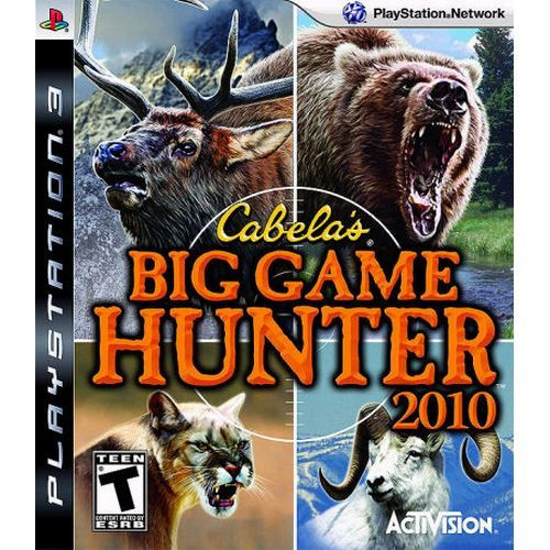 Cabelas Big game Hunter 2010 - PS3 Semi novo