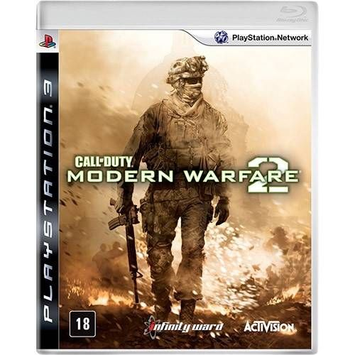Call Of Duty Modern Warfare 2 - PS3 Semi novo