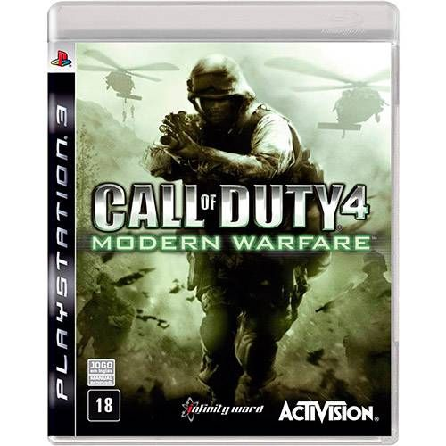 Call of Duty 4: Modern Warfare - PS3 Semi novo