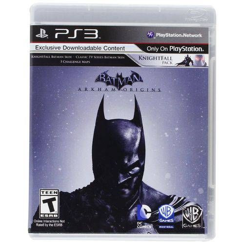 Batman: Arkham Origins - PS3 Semi novo
