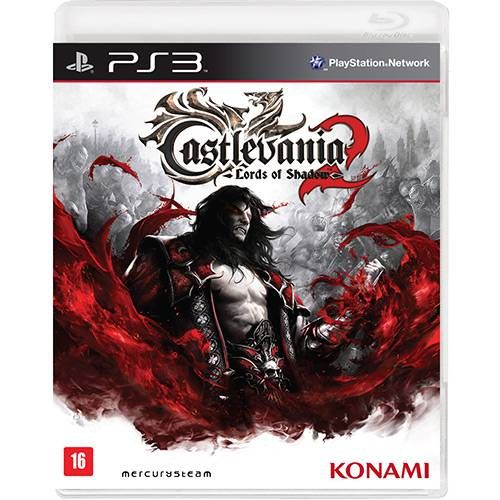 Castlevania: Lords of Shadow 2 - PS3 Semi novo