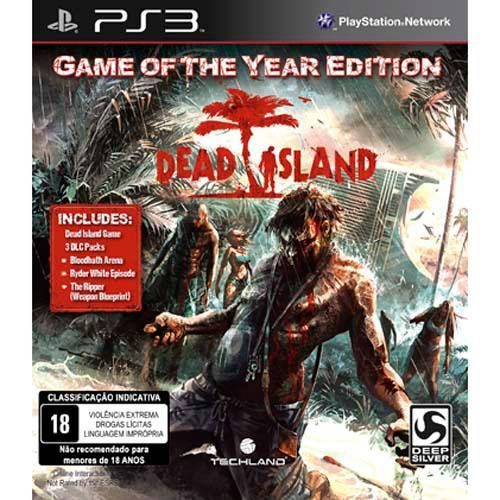Dead Island - Game of The Year Edition - PS3 Semi novo