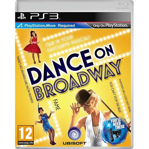 Dance On Broadway - PS3 Semi novo