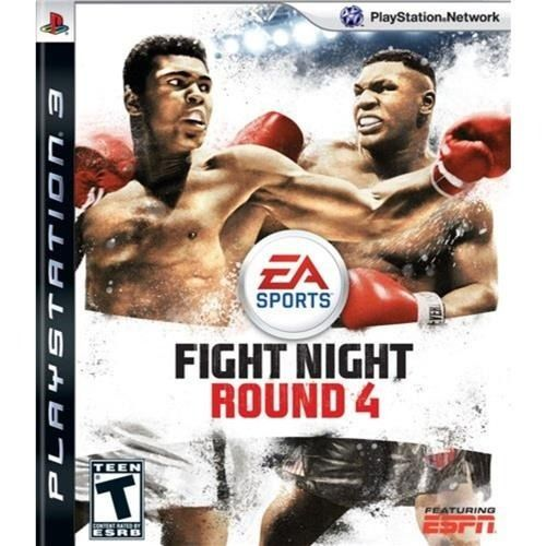 Fight Night Round 4 - PS3 Semi novo