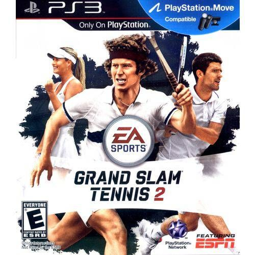 Grand Slam Tennis 2 - PS3 Semi novo