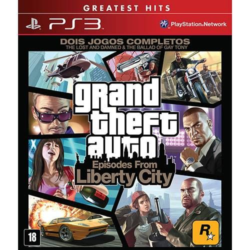 Grand Theft Auto: Episodes from Liberty City - PS3 Semi novo