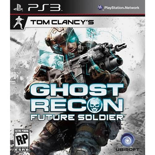 Tom Clancy'S Ghost Recon: Future Soldier - PS3 Semi novo
