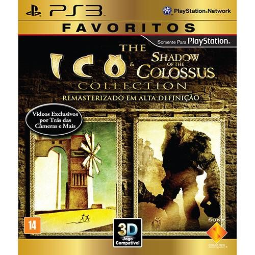 Ico/Shadow Of The Colossus Collection - PS3 Semi novo
