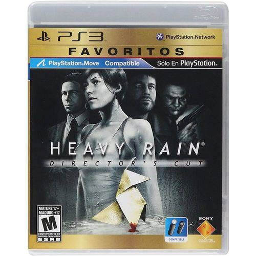 Heavy Rain Director's Cut Favoritos - PS3 Semi novo