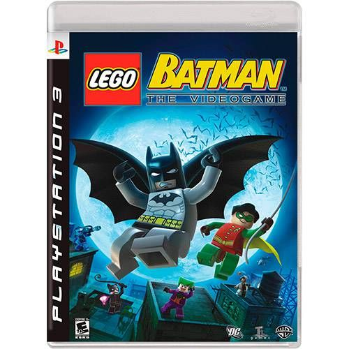 Lego Batman: The Videogame - PS3 Semi novo