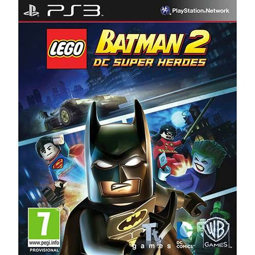 LEGO Batman 2 - PS3 Semi novo