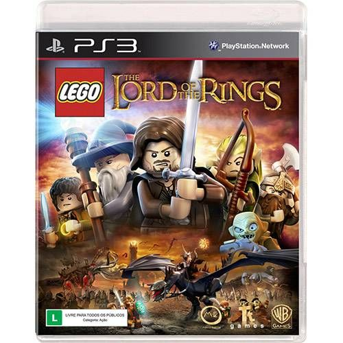 Lego Lord of The Rings - PS3 Seminovo