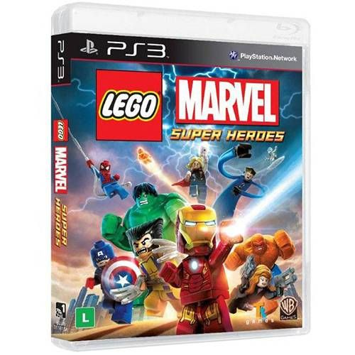 Lego Marvel Super Heroes - PS3 Seminovo
