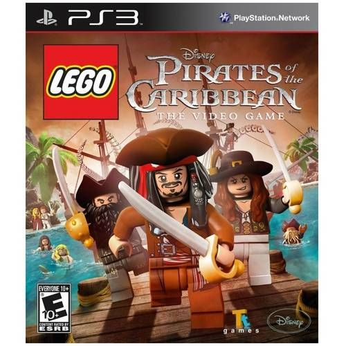 Lego Piratas Do Caribe: The Video Game - Ps3 Seminovo