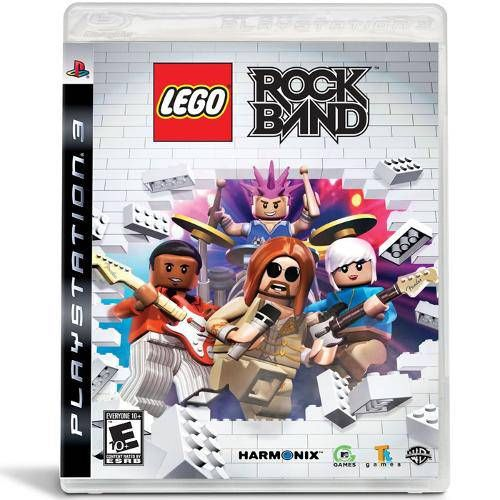 Lego Rock Band - PS3 Seminovo