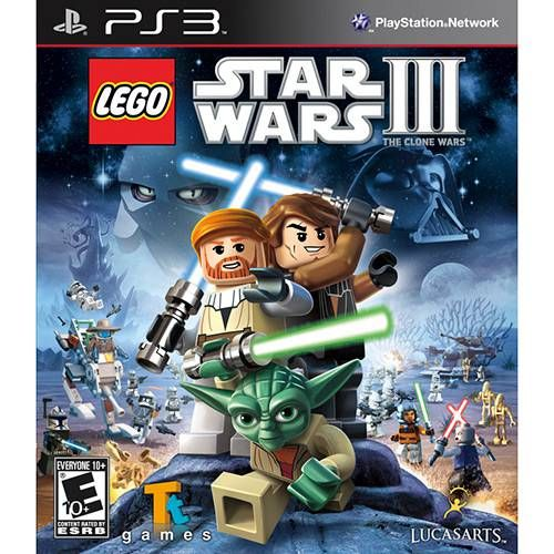 Lego Star Wars III - PS3 Seminovo