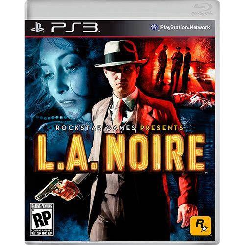 L.A. Noire - PS3 Seminovo